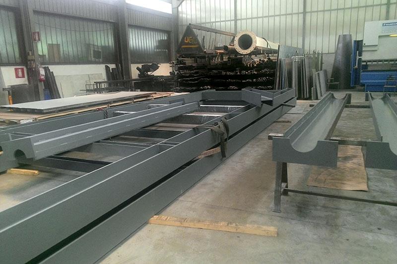 carpenteria - Struktur