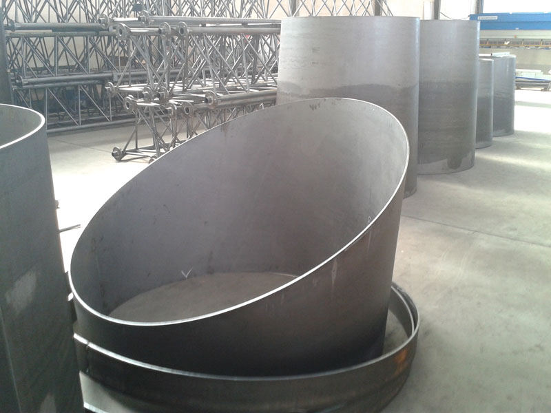 Calandratura - Eingerollte Platte
